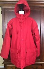 Antartic Expedition Gear Men Red Winter Hoodie Jacket Size XL