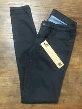 KSUBI Black Cobalt Skinny Pins Stretch Jeans 27