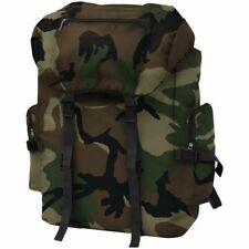 vidaXL Rugzak Legerstijl 65 L Camouflage Rug Zak Tas Leger Legerrugzak Legertas