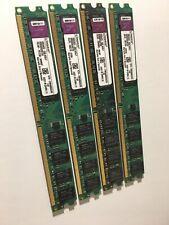 ✨8GB Kingston🔥 (4x2GB) DDR2 💥Desktop Ram KTH-XW4400C6/2G ⭐️TESTED