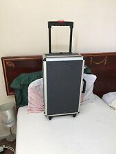Forte in alluminio resistente, legno Trolley Volo caso fotocamera, apparecchiature di storage strumento