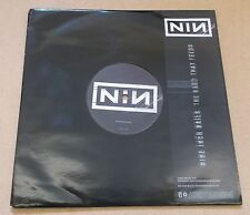 """NINE INCH NAILS The Hand That Feeds 2005 UK promo only 1-sided vinyl 9"""" UNPLAYED"""