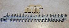 PASSENGER CAR COACH SEATS w/ PARTITIONS HO Model Railroad Plastic Detail BB51118