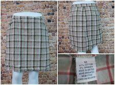 Cherokee Women Skirt Size 12 Plaid Checkered Brown