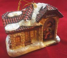 All Aboard-Hummel Bavarian Christmas Ornament 1999-Illuminated! Bradford Ed