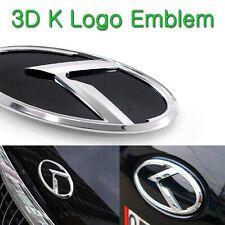 [Kspeed] (Fits: KIA K Logo Sorento R) 3D Front Emblem K Logo
