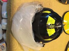 Fire Firefighter Helmet Black Morning Pride New