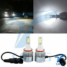 2x H11 Super Bright LED Car Headlight Headlamp Bulbs Nissan Juke Qashqai X-Trail