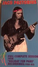 JACO PASTORIUS Holiday For Pans - Full Complete Sessions OOP 3 CD BOX w/ T-SHIRT