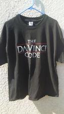 The Da vinci code black t shirt size Xl