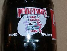 2002 Hot August Nights Coca-Cola Coke Bottle