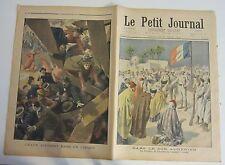 le petit journal 1901 gravures 541 djemaa de charrouin aman accident au cirque