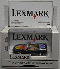 Johnny Lightning - Chevy Corvette Cabrio schwarz LEXMARK Neu/OVP