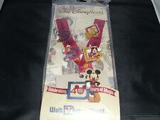Disney * WDW EPCOT 40 Years Magic Anniversary * 4-pin Starter Set