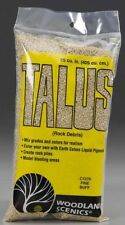 Woodland Scenics C1270 Talus Rock Debris - Fine -- Buff - 25 Cu In Bag