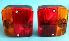 2 x Rear 4 Way Lamp Light Cluster for Horse Box Trailer    #TR