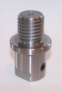 """Lathe Spindle Adapter Fits Shopsmith 5/8"""" Spindle to 1"""" - 8Tpi Threaded Chucks"""