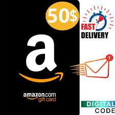 $50 Amazon Gift Card - Amazon Card US 50 Dollar Digital Key - US ONLY