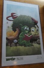 Two Signed Prints of BLOOP by Steve Conley