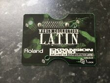 Roland JV80-18 World Latin Collection Expansion Board VGC JV1080/2080