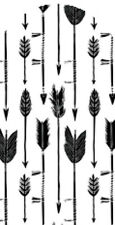20 water slide nail art transfer decals black and white arrows full nail wrap