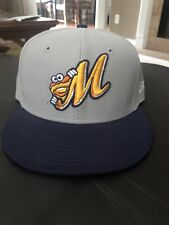 Montgomery Biscuits Game Issued Hat 7 1/8 Tampa Bay Rays AA Affiliate!