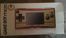 Nintendo Game Boy Micro Famicom Console - Red/Gold   US Seller!