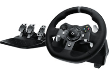 Logitech G920 Driving Force Racing Steering Wheel & Pedals for PC & Xbox One