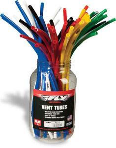 "Fly Racing Gas Cap Vent Hose 18"" Multi-Colors 50/Pk 28-1150"