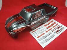 TRAXXAS STAMPEDE 4x4 VXL  RED + BLACK BODY 2wd  NEW XL-5 4WD BRUSHLESS DECALS