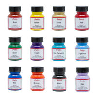 Angelus Acrylic Leather Paint for Sneakers Shoes Bags Trainer Jackets Car - Set1