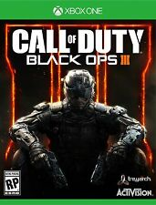 Call of Duty: Black Ops III 3 (Microsoft Xbox One, 2015)