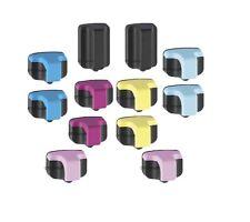 12 HP02 Ink Cartridges for Photosmart C5180 C6180 C7180 C6280 C7280 8230 Printer