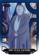 Star Wars Galactic Files (2018) BLUE PARALLEL BASE Card ESB-25 / OBI-WAN KENOBI