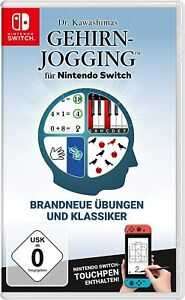 Dr. Kawashimas Gehirn-Jogging - Nintendo Switch - KOMPLETT mit OVP