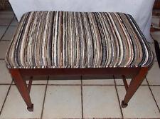 Mahogany Sheraton Vanity Bench (Bn88)