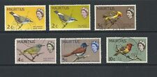 Birds Used Mauritian Stamps