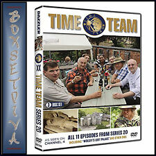 TIME TEAM - COMPLETE SERIES 20 **BRAND NEW DVD ***