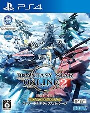 NEW PS4 Phantasy Star Online 2 Episode 4 Deluxe Package Japan Import
