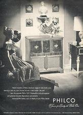 1947 Philco Radio Phonograph FM  Vintage Advertisement Print Ad J517