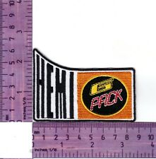 Valiant Hemi 6 Pack Heat Sealed Embroidered Cloth Patch..Badge