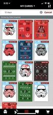 Topps Star Wars Trader 12 Days Christmas Complete Set W/ Award 13 Cards
