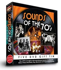 Sound of the 70's 5 DVD Gift Tin Christmas Disco Funk Soul Rock Pop Electronic