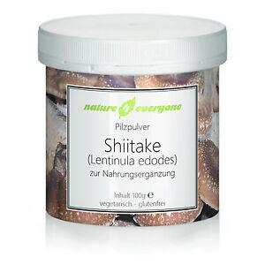 100g Shiitake Pilzpulver von nature4everyone
