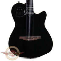Brand New Godin Multiac ACS-SA Slim Nylon Acoustic-Electric Guitar Black Pearl