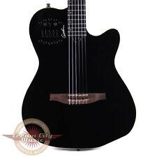 Brand New Godin Multiac ACS-SA Slim Nylon Acoustic-Electric Guitar Black Pearl
