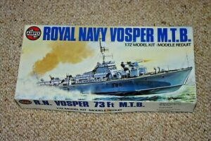 AIRFIX ROYAL NAVY VOSPER M.T.B. 1/72 Scale