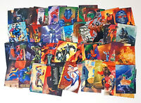 Lot of 90s DC Comics Superhero Cards! Vintage Collectable Skybox Cards