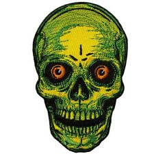 """Authentic KREEPSVILLE 666 Staring Skull Embroidered Patch 4.5"""" NEW"""