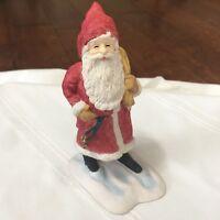 "Hallmark - Heirloom Santa Collection - A Happy Christmas 1990  6"" figurine"